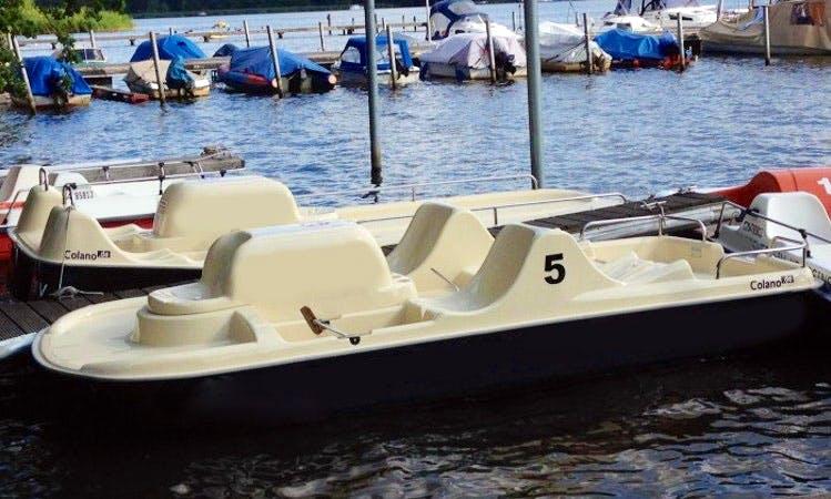 Rent Pedalo Series Coloano Boat In Berlin