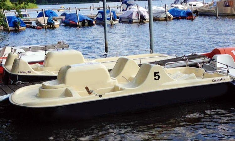 Rent Pedalo Series Coloano Boat In Berlin