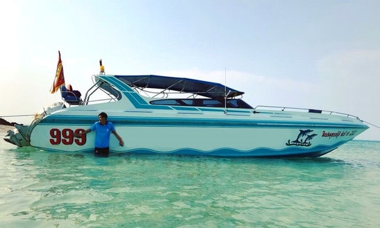 Explore 5 Islands In Rayong, Thailand With A Speedboat For 15 People