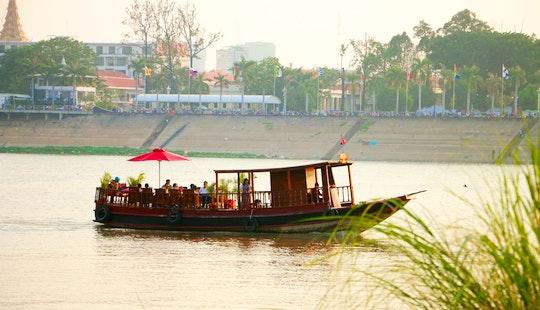 Private Boat, Phnom Penh.