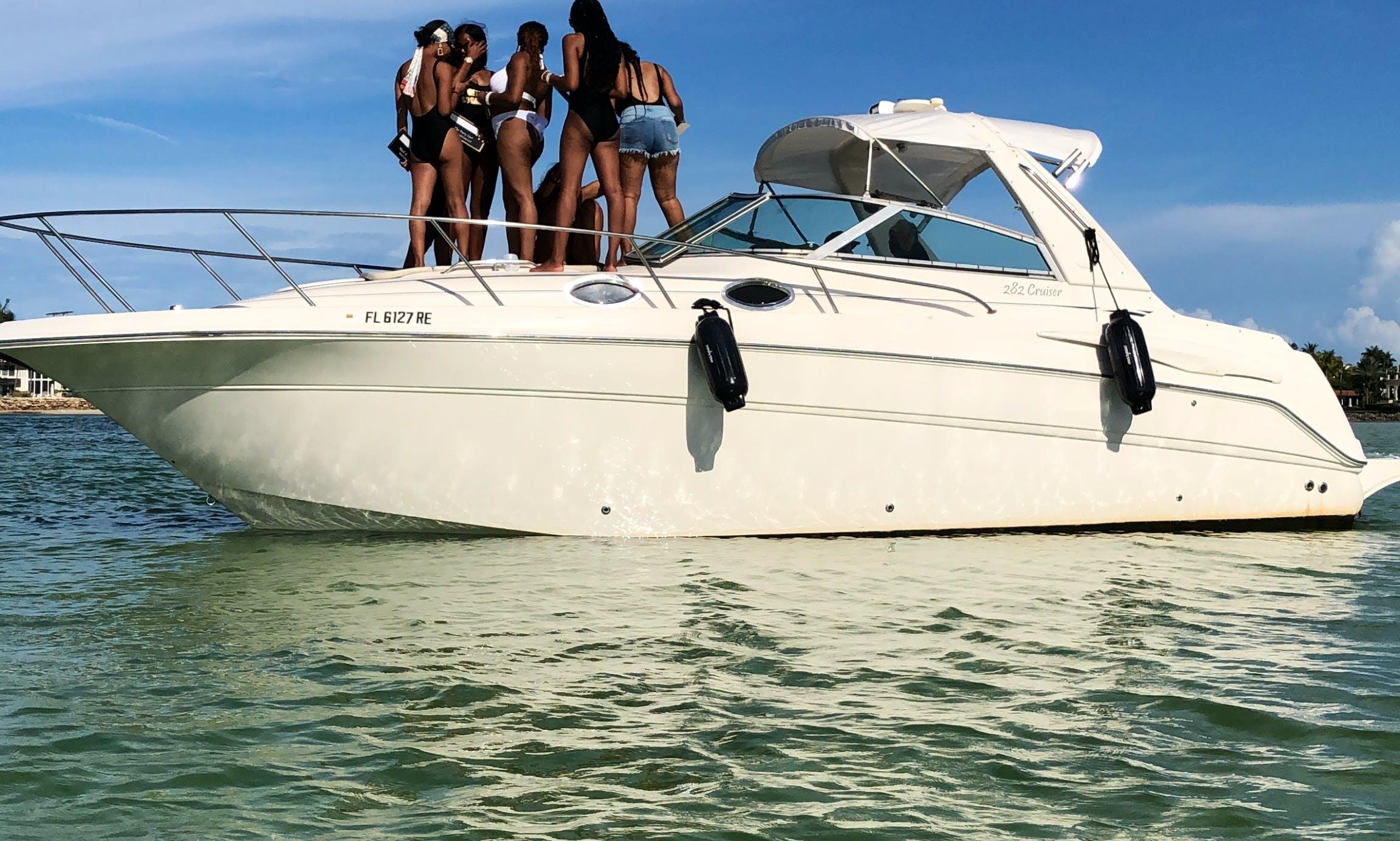 "Cruiser 33"" Yacht rental in Miami"