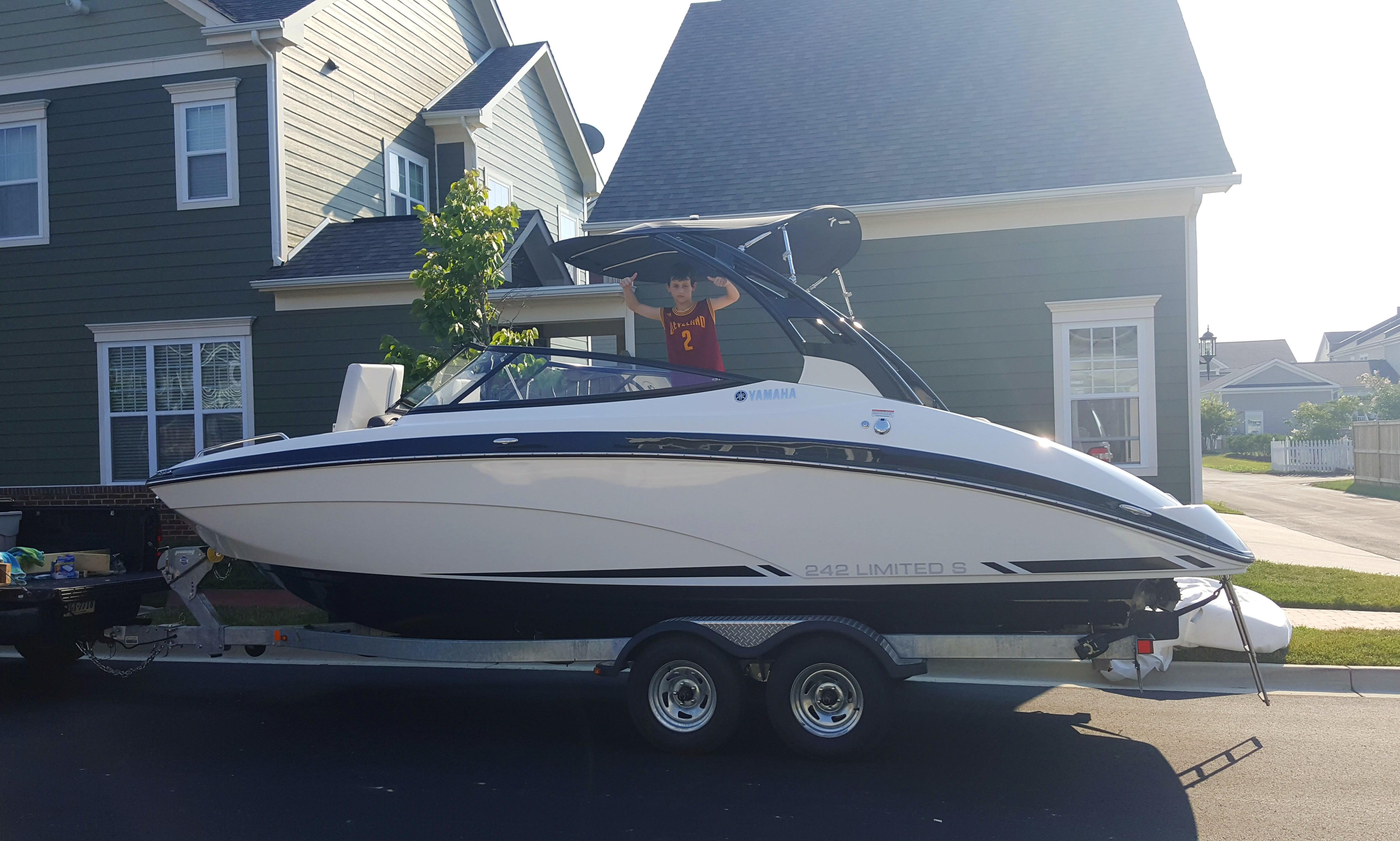 See the Bay from a beautiful 24' Wake Jet Boat in Annapolis