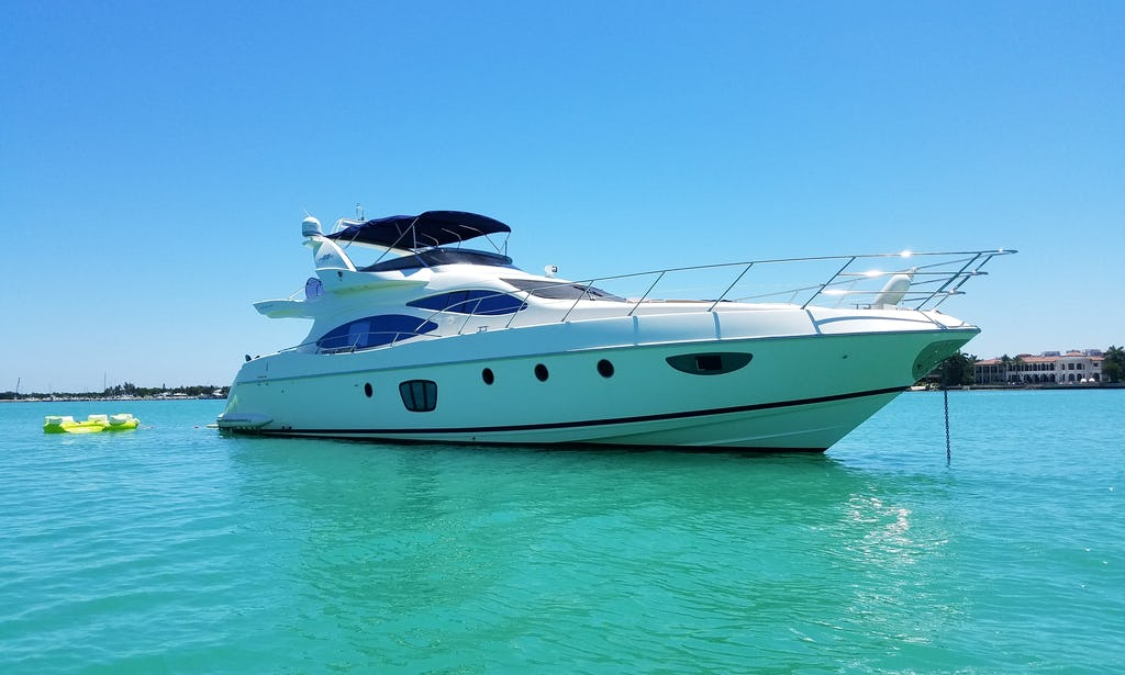 Rent A Yacht In Miami 62 Azimut Miami Florida Keys Bahamas