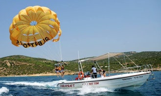 Have a fun Parasailing experience in Pefkari, Thassos