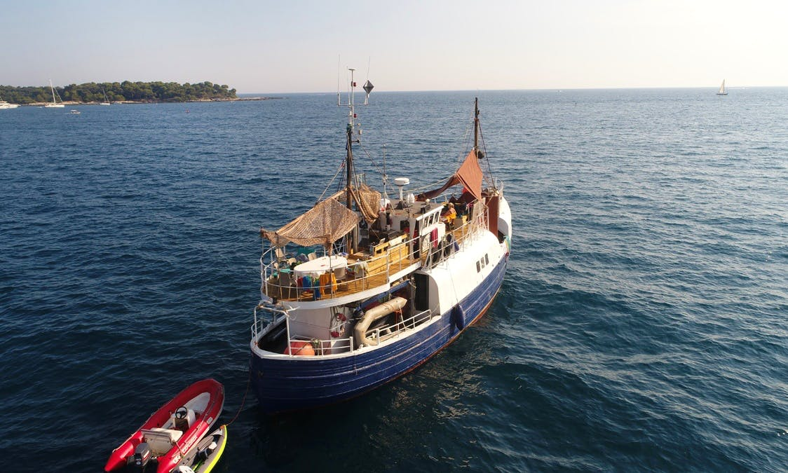Trawler rental in the Ionian, Greece