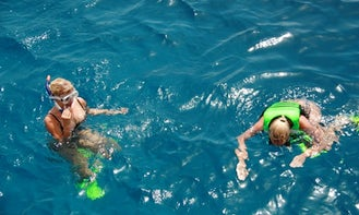 Enjoy full day snorkeling trip in Aqaba, Jordan aboard Yasmena