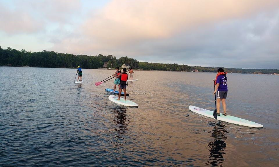 Create memories that will last a lifetime! Rent our SUP in Greenwood, South Carolina!