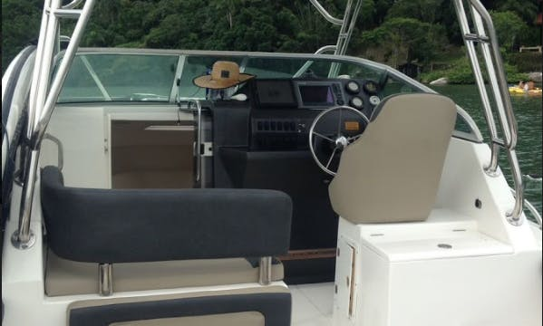 Exciting Fishing Trip in Santa Catarina, Brazil on a Clariabina Yacht