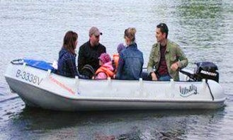14' RIB Whaly 435 Rental in Woltersdorf, Germany