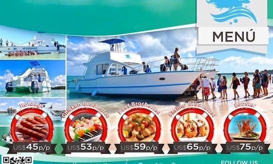 Power Catamaran Rental In Punta Cana