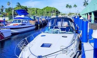 Rent 32' Sea Ray Sundancer Motor Yacht In Miami, Florida