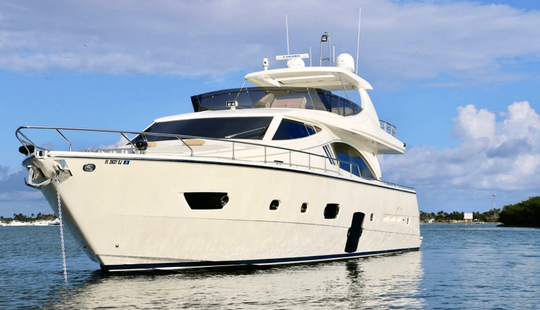 Yacht Rentals Miami - 76' Ferretti - Miami, Florida Keys, The Bahamas!