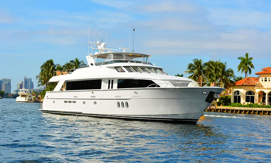 Avanti - 100 Ft. Mega Luxury Yacht In South Florida (with Captain Only)