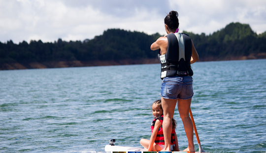 Enjoy Sup In Guatape, Colombia