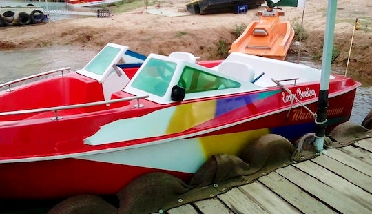 Rent This Red Bowrider Boat In Khanpur, Pakistan