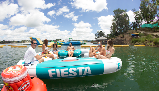 Book A Relaxing Jacuzzi Floating In Guatape, Colombia