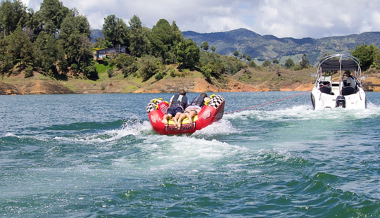 Enjoy Tubing With Friends In Guatape, Colombia