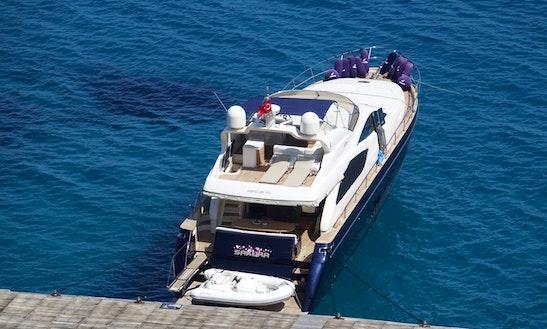 22 Meter Motor Yacht Sakura For Charter In Bodrum