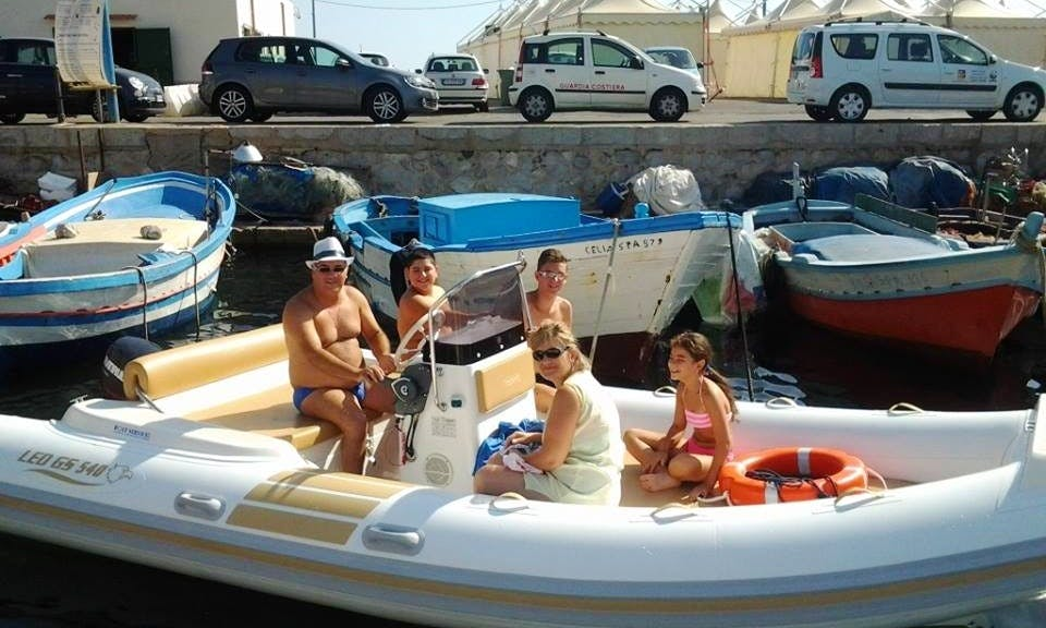 Rent a 18' LED 540 Rubber Dinghy in Palermo, Italy