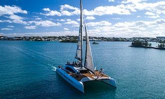 "77ft ""Zara"" Cruising Catamaran Charter in Warwick, Bermuda for 30 person!"