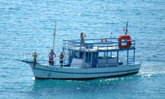 Charter a 43' Wooden Boat for Up to 35 Persons in Pernambuco, Brazil