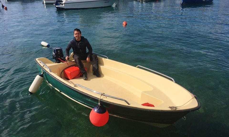 13 ft Dinghy Rental for 3 People in Herceg Novi, Montenegro