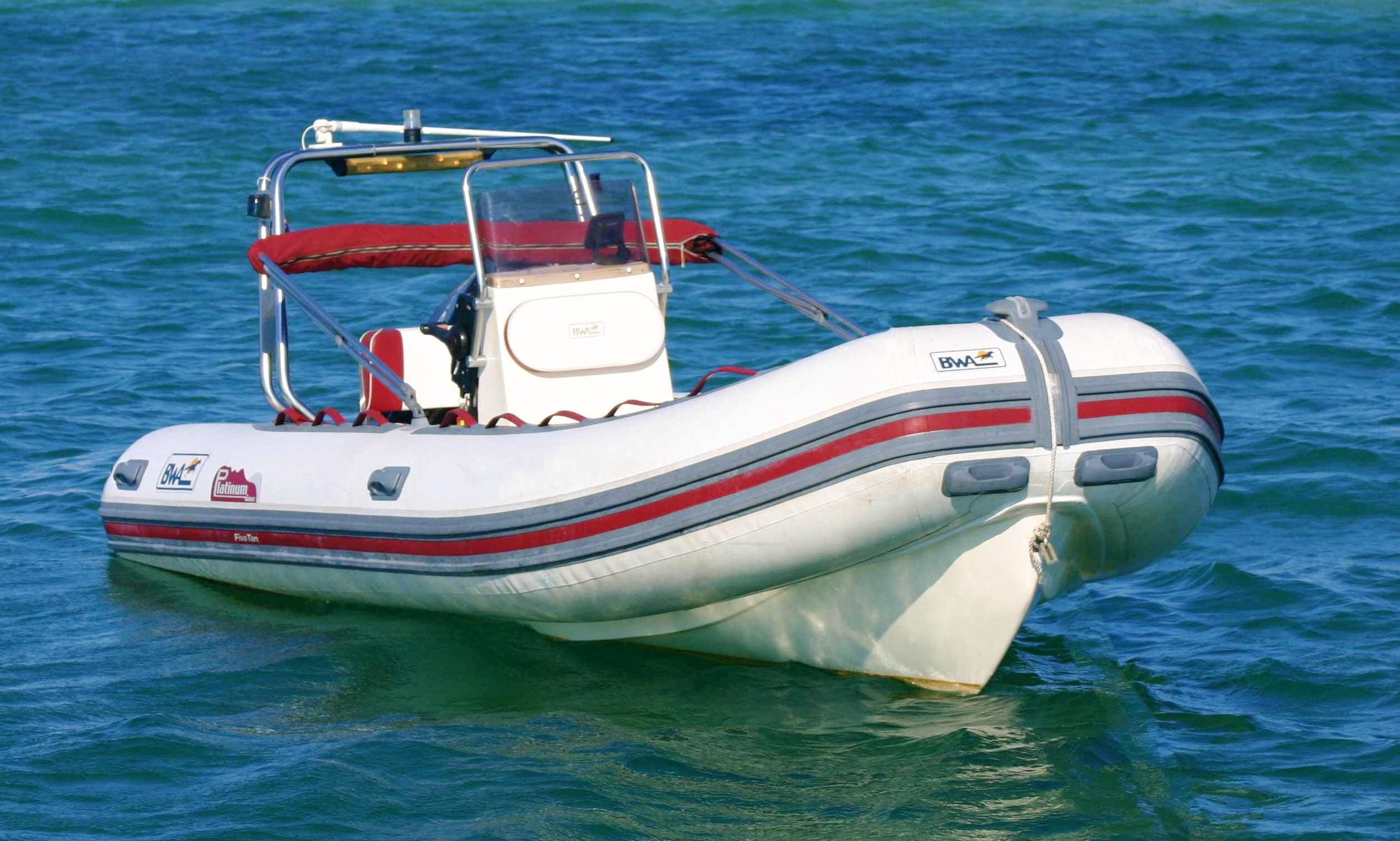 2008 BWA 510 RIB rental in Faro for up to 6 guests