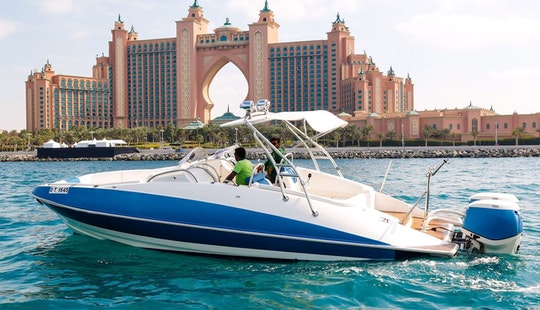 Sport Boat 31ft In Dubai Marina Mall