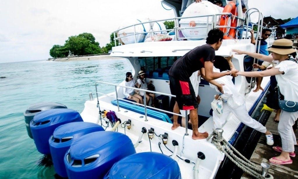 Enjoy an amazing fishing package in Nusapenida, Bali