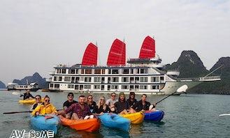 Party Cruising 2 Days in Halong Bay Vietnam