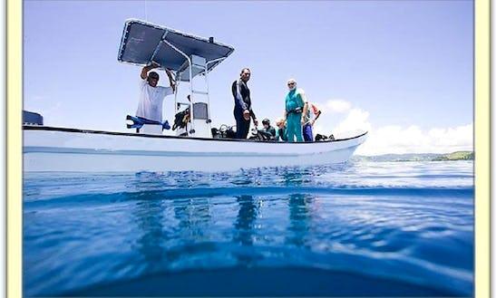 Dive Boat For Charter In Fiji
