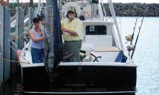 Fishing Charter On 31ft