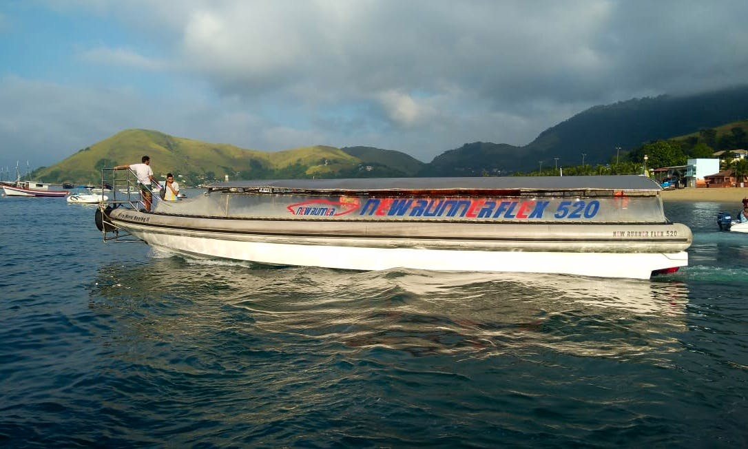 Rigid Inflatable Boat Tour for Up to 78 People in Rio De Janeiro, Brazil