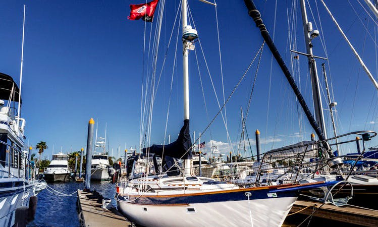 'Barefoot Babe' Luxury Sailing Charter in Clear Lake