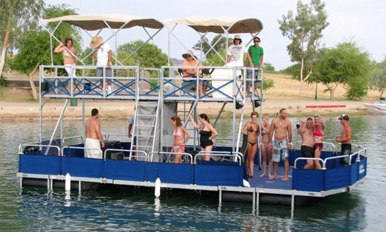 Party Yacht 'blue Deuce' In Austin
