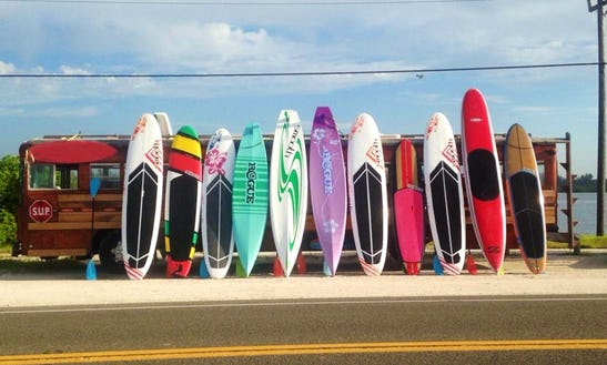 Rent A Stand Up Paddleboard In Bradenton, Florida