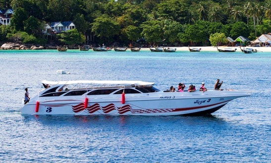 Discover The Amazing Satun, Thailand Onboard A Speedboat