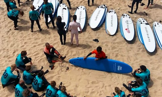 Awesome 7 Days Bed And Breakfast Surfing Holidays In Encarnação, Lisboa