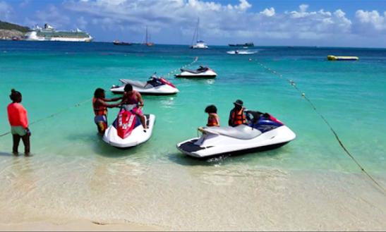 Great Jet Ski Experience In Philipsburg, Sint Maarten!
