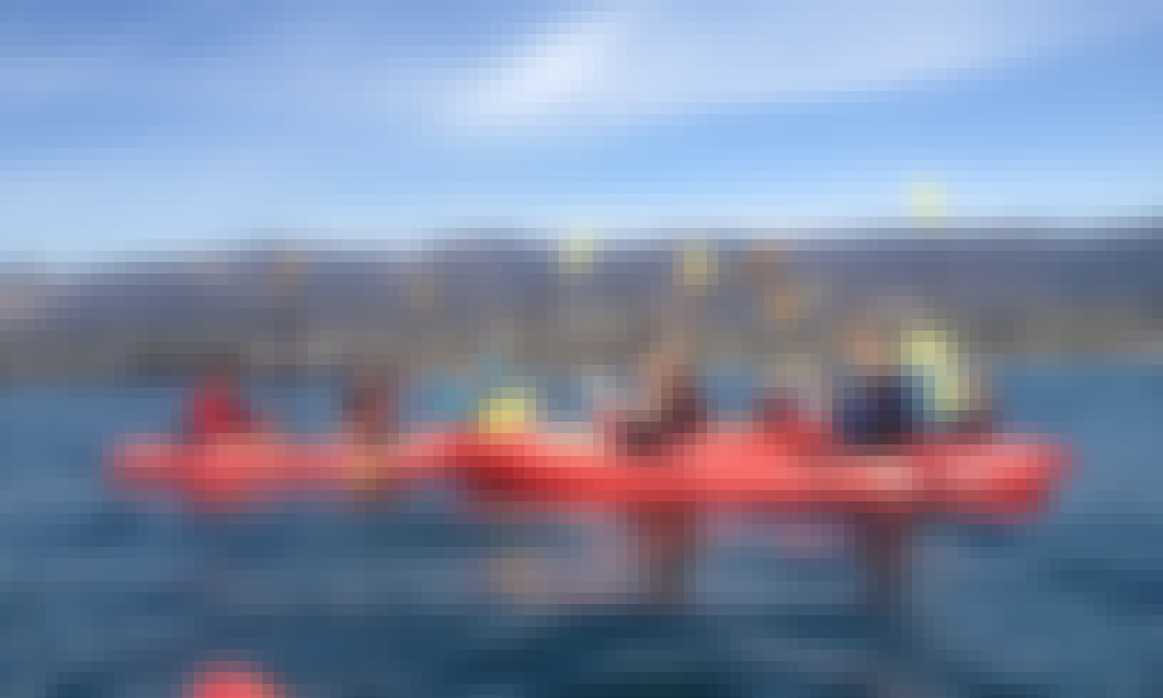 Hourly Kayak Rental on Santa Barbara Harbor, California
