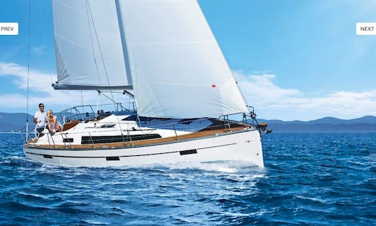 Bavaria Cruiser 37 Cruising Monohull Charter For 6 People In Ljubljana, Slovenia
