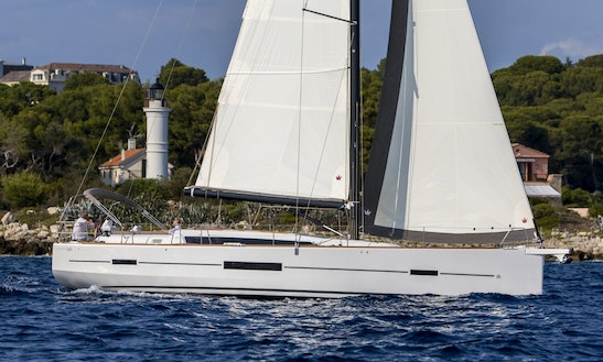 50ft Dufour 520 Cruising Monohull Charter For 8 People In Ljubljana, Slovenia