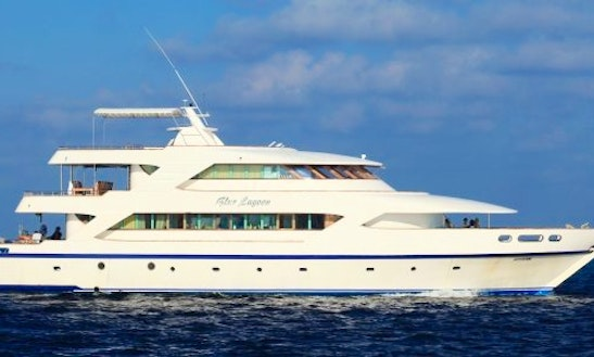 Enjoy An Amazing Scuba Diving Tour In Azul Maldives! Book The M/v Fun Azul Iii Yacht!