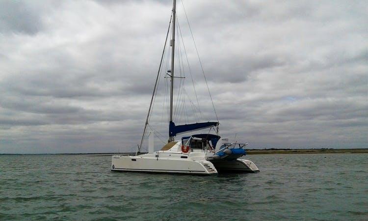 Charter Catana C381 Cruising Catamaran in England