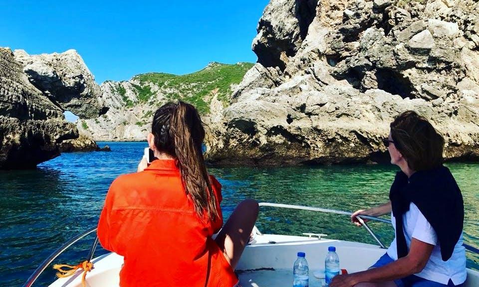 Boat and Paddle Board Safari in Secret Arrábida