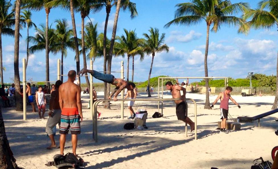 Miami outdoor gym