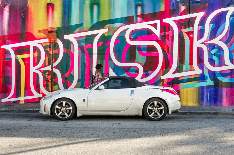Miami Street Art + Car