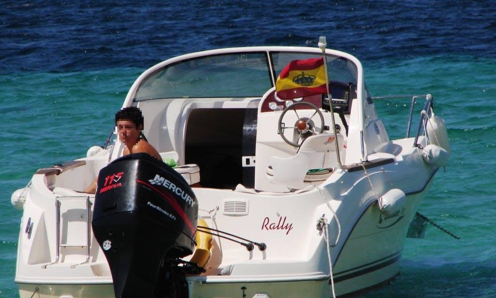 Boat rental in Palma