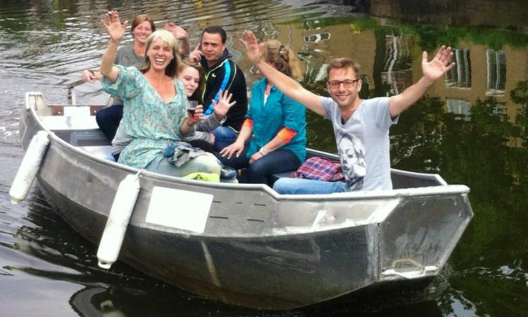 17' Dinghy Rental in Amsterdam, Netherlands