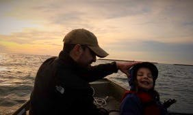Motor Boat Tour for 2 People in Cape Charles, Virginia with Tim